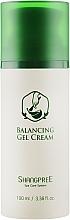 Düfte, Parfümerie und Kosmetik Feuchtigkeitsspendende Gel-Creme mit Kiefernblatt, koreanischer Minze und aktiven Pflanzenstoffen - Shangpree Balancing Gel Cream