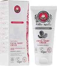 Düfte, Parfümerie und Kosmetik Natürliche Nachtcreme mit Rosenwurz - Rezepte der Oma Agafja White Agafia Natural Facial Night Cream