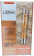 Düfte, Parfümerie und Kosmetik Gesichtspflegeset - Lierac Sunissime (Sonnenschutzfluid 40ml + Sonnenschutz-Augenbalsam 3g)