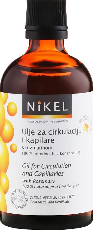 Rosmarinblattöl zur Verbesserung der Mikrozirkulation im Blut - Nikel Oil for Circulation and Capillaries — Bild N2