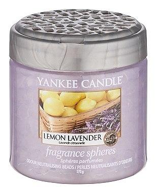 Duftsphäre mit Perlen Lemon Lavender - Yankee Candle Lemon Lavender Fragrance Spheres — Bild N1