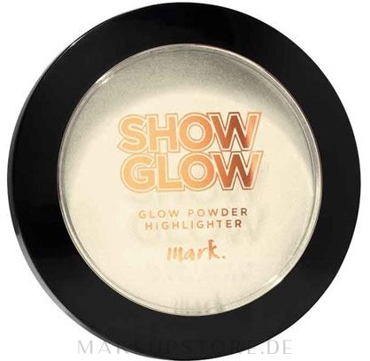 Puder-Highlighter - Avon Mark Show Glow Powder Highlighter — Bild Full Beam