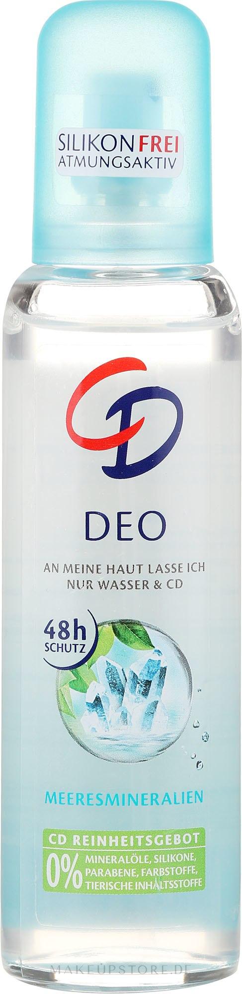 Körperspray Meeresmineralien - CD Deo — Bild 75 ml