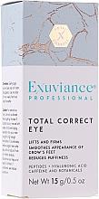 Düfte, Parfümerie und Kosmetik Professionelle Augencreme mit Peptiden und Hyaluronsäure - Exuviance Professional Total Correct Eye