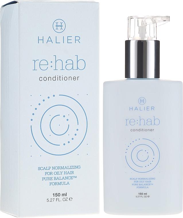 Normalisierender Conditioner für fettiges Haar - Halier Re:hab Conditioner — Bild N1