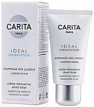 Düfte, Parfümerie und Kosmetik Gesichtspeeling zur Beruhigung der Haut - Carita Ideal Hydratation Lagoon Scrub