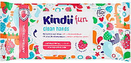 Düfte, Parfümerie und Kosmetik Antibakterielle Feuchttücher - Kindii Fun Kids Care