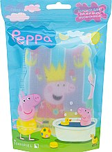 Düfte, Parfümerie und Kosmetik Kinder-Badeschwamm Peppa Pig Peppa mit Krone - Suavipiel Peppa Pig Bath Sponge