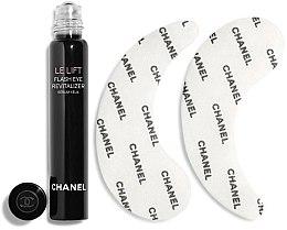 Düfte, Parfümerie und Kosmetik Pflegeset für die Augenpartie - Chanel Le Lift (Augenserum 5ml + Hydrogel-Augenpatches 2St.)