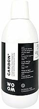 Düfte, Parfümerie und Kosmetik Aufhellende Mundspülung mit Aktivkohle - Woom Carbon+ Mouthwash with Whiteness Action