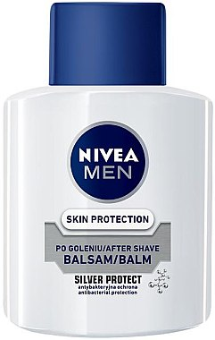 "After Shave Balsam ""Silver Protect"" - Nivea For Men Silver Protect After Shave Balm  — Bild N1"