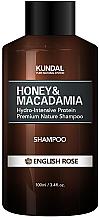 Düfte, Parfümerie und Kosmetik Feuchtigkeitspendendes Schampoo mit englischer Rose - Kundal Honey & Macadamia English Rose Shampoo