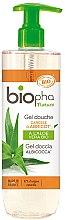 Düfte, Parfümerie und Kosmetik Duschgel mit Aprikose und Aloe Vera - Biopha Nature Gel Douche