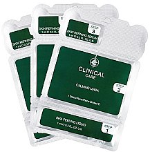 Düfte, Parfümerie und Kosmetik Gesichtspeelingmasken 3 St. - Klapp Clinical Care 3 Step Home Peeling Treatment