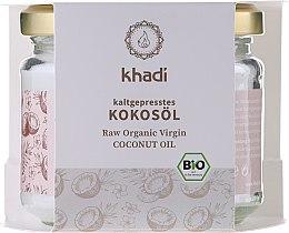 Düfte, Parfümerie und Kosmetik Kaltgepresstes Kokosöl für Gesicht und Körper - Khadi