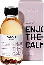 Düfte, Parfümerie und Kosmetik Entspannendes Körperöl mit Rosenblättern - Veoli Botanica Relaxing Body Oil With Rose Petals Enjoy The Calmness