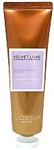 Düfte, Parfümerie und Kosmetik Intensiv feuchtigkeitsspendende und aufweichende Hand- und Körpercreme mit Lavendel - Voesh Velvet Luxe Lavender Soothe Vegan Body&Hand Creme