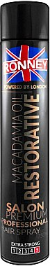 Haarlack - Ronney Macadamia Oil Restorative Hair Spray — Bild N1