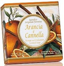 Düfte, Parfümerie und Kosmetik Naturseife Orange & Cinnamon - Saponificio Artigianale Fiorentino Orange & Cinnamon Soap Taormina Collection