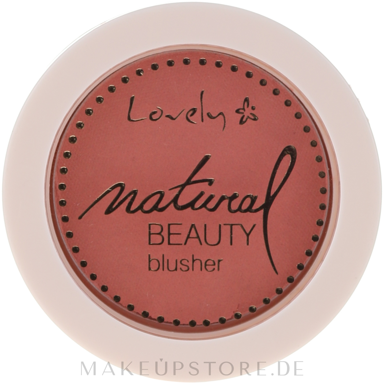 Kompakt-Rouge - Lovely Natural Beauty Blusher — Bild 01