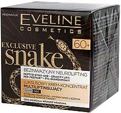 Düfte, Parfümerie und Kosmetik Intensiv regenerierendes Gesichtspflegekonzentrat 60+ - Eveline Cosmetics Exclusive Snake 60+