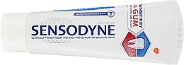 Zahnpasta für Schmerzempfindlichkeit und Zahnfleischbluten Sensitivity & Gum - Sensodyne Sensitivity & Gum — Bild N2