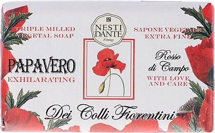 Naturseife Poppy - Nesti Dante Intoxicating Soap Dei Colli Fiorentini Collection — Bild N1