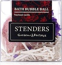 Düfte, Parfümerie und Kosmetik Badebombe Vanille & Patschuli - Stenders Patchouli-Vanilla Bath Bubble-Ball