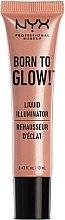 Düfte, Parfümerie und Kosmetik Flüssiger Gesichtsilluminator - NYX Professional Makeup Born To Glow Liquid Illuminator (Mini)