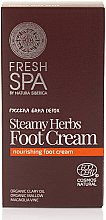 Düfte, Parfümerie und Kosmetik Fußcreme - Natura Siberica Fresh Spa Russkaja Bania Detox Steamy Herbs Foot Cream