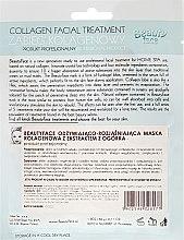 Kollagenmaske mit Gurkenextrakt - Beauty Face Cucumber Extract Collagen Mask — Bild N2