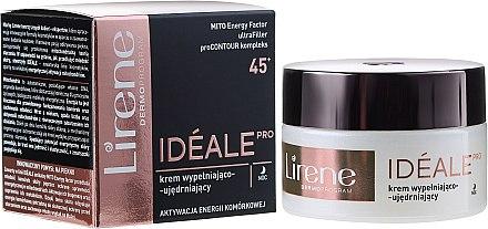 Straffende Nachtcreme mit Faltenauffüll-Effekt 45+ - Lirene Ideale Pro 45+ — Bild N1