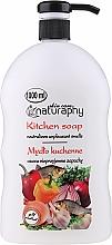 Düfte, Parfümerie und Kosmetik Flüssige Küchenseife - Bluxcosmetics Naturaphy Hand Soap