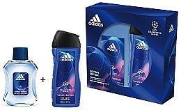 Düfte, Parfümerie und Kosmetik Adidas UEFA Champions League Victory Edition - Duftset (Eau de Toilette/50ml+Duschgel/250ml)