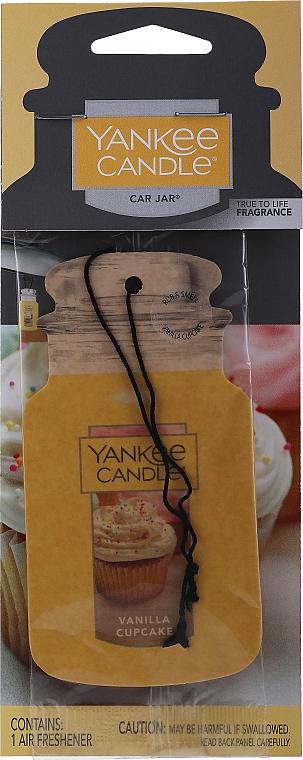 Auto-Lufterfrischer Vanilla Cupcake - Yankee Candle Vanilla Cupcake Car Jar Ultimate