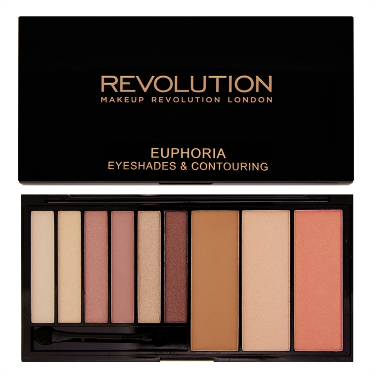 Lidschatten- und Konturpalette - Makeup Revolution Euphoria Palette — Bild N1