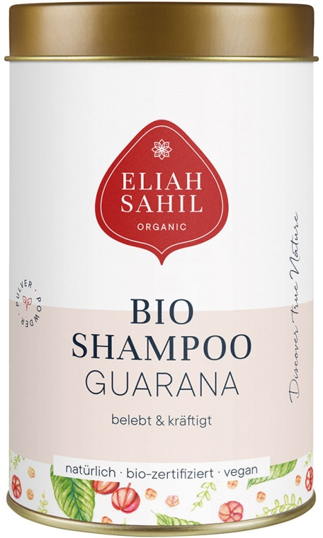 Shampoo-Pulver mit Guarana - Eliah Sahil Natural Shampoo Powder for Stronger Hair Roots — Bild N1