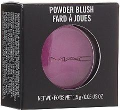 Düfte, Parfümerie und Kosmetik Gesichtsrouge - M.A.C Powder Blush