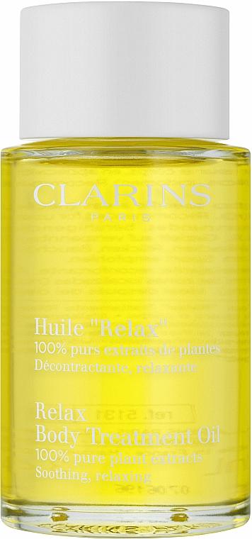Beruhigendes und enspannendes Körperöl mit 100% Pflanzenextrakten - Clarins Body Treatment Oil Relax — Bild N1