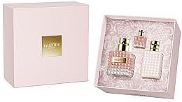 Düfte, Parfümerie und Kosmetik Valentino Donna - Kosmetikset (Eau de Parfum/100ml + Körperlotion/100ml + Mini/10ml)