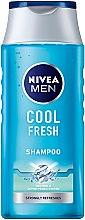 Düfte, Parfümerie und Kosmetik Shampoo für Männer, Tiefenreinigung und Erfrischung - Nivea For Men Cool Fresh Mentol Shampoo