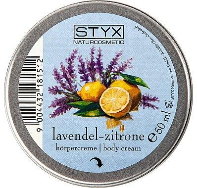 Körpercreme mit Lavendel und Zitrone - Styx Naturcosmetic Lavender Lemon Body Cream — Bild N2