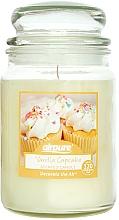 Düfte, Parfümerie und Kosmetik Duftkerze im Glas Vanilla Cupcake - Airpure Jar Scented Candle Vanilla Cupcake