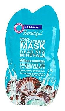 Anti-Stress Gesichtsmaske mit Mineralien aus dem Toten Meer - Freeman Feeling Beautiful Dead Sea Minerals Anti-Stress Mask (Mini) — Bild N1