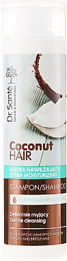 Feuchtigkeitsspendendes Shampoo mit Kokosöl - Dr. Sante Coconut Hair — Bild N3