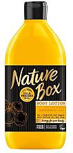 Düfte, Parfümerie und Kosmetik Pflegende Körperlotion mit Macadamiaöl - Nature Box Macadamia Oil