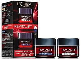 Düfte, Parfümerie und Kosmetik Gesichtspflegeset - L'Oreal Paris Revitalift Laser X3 (Tagescreme 50ml + Nachtcreme 50ml)