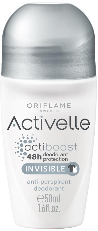 Deo Roll-on Antitranspirant - Oriflame Activelle Actiboost Invisible — Bild N1