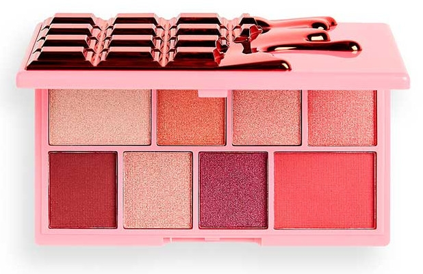 Lidschattenpalette - I Heart Revolution Eyeshadow Mini Chocolate Palette Cherry