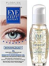 Feuchtigkeitsspendendes Augen- und Lippenkonturgel - Floslek Eye Care Bioactive Moisturizing Gel Under Eyes And Around Mouth Area — Bild N1